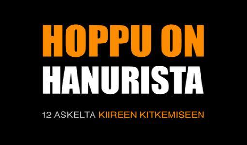 Kiire on työelämän ihottuma: 6.3. julkaistava Hoppu on hanurista -kirja antaa kuvan suomalaisesta arjesta ja työkaluja kiireen kitkentään