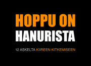 Stress är vår tids eksem: Den 6 mars publiceras Hoppu on hanurista, en bok som ger inblick i vardagen i Finland och verktyg för stresshantering.