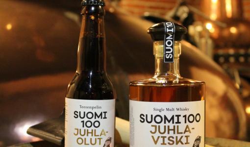 Teerenpeli julkaisee ensimmäisen savuisen viskinsä 100-vuotiaan Suomen kunniaksi