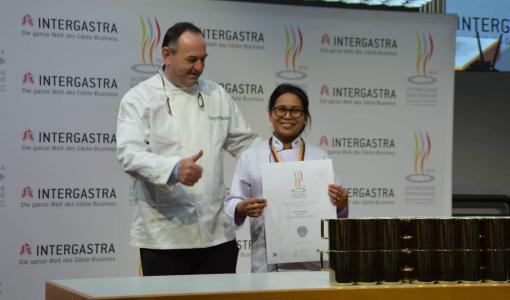 Nittya Kosa kaiversi Suomen hopealle IKA Culinary Olympics -kilpailussa