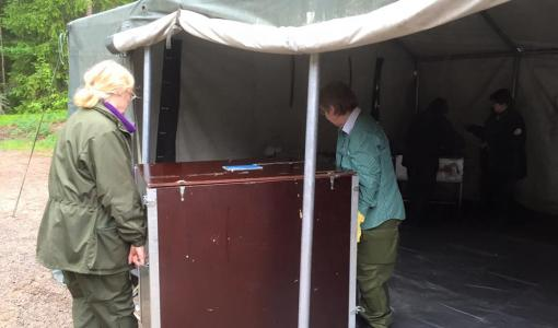 Sotilaskotijärjestö harjoittelee poikkeusolojen sotilaskotitoimintaa Kaakko 16 harjoituksessa 27.5.–2.6.2016