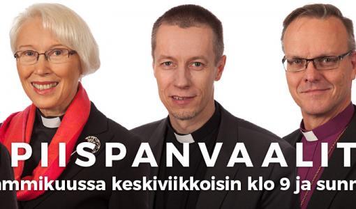 Radio Dei tenttaa arkkipiispaehdokkaat