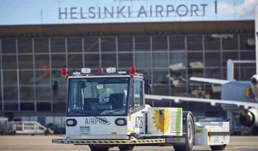 Airpro tuo uutta teknologiaa Helsinki-Vantaalle: Lentokoneet siirtyvät nyt sähköllä!