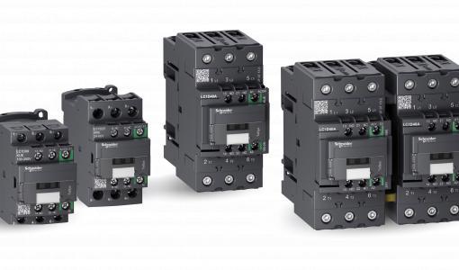 Schneider Electriciltä uusi energiatehokas TeSys D Green -kontaktorisarja