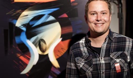 """Tässä on """"Viides Huuto"""", joka maalattiin Edvard Munchin digitalisoiduilla siveltimillä"""