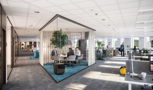 Laatu ja tunnelma tärkeintä Solna Unitedin rakennuksessa – sisäkatto täyttää toiveet