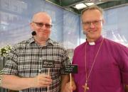 Arbetsminister Lindström och biskop Luoma på Suomiareena: Slappa lite och låt jobbet inspirera