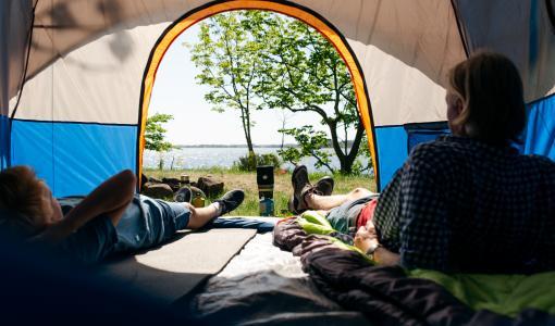 Irti arjesta telttaretkellä
