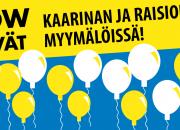 Kaarinan ja Raision Biltema-tavaratalot uudistuivat – tervetuloa avajaisiin!