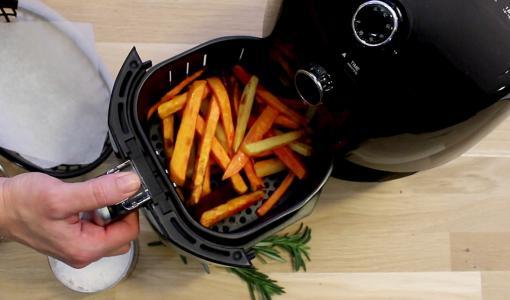 Ilmafriteerauskeittimellä valmistat ruokaa terveellisesti