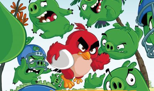 Angry Birds -sarjakuvat Arktiseen Banaaniin