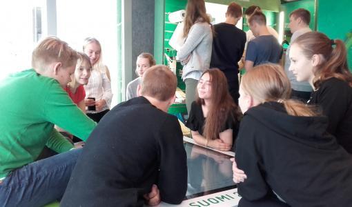 Bioaika innoitti satoja nuoria Kastellin koululla