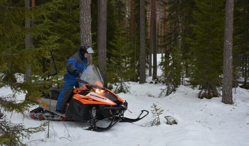 Keuruun Tonttumäen alueelle avattiin Etelä-Suomen ensimmäinen vapaan kelkkailun alue