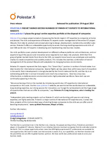polestar_press-release_29.8.14.pdf