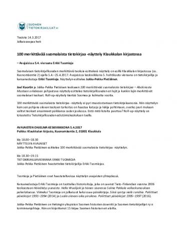 tiedote-100-merkittavaa-suomalaista-tietokirjaa-nayttely-klaukkalassa.pdf