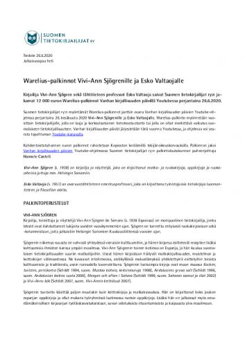 tiedote-warelius-palkinnot-jaettiin-26.6.2020-.pdf