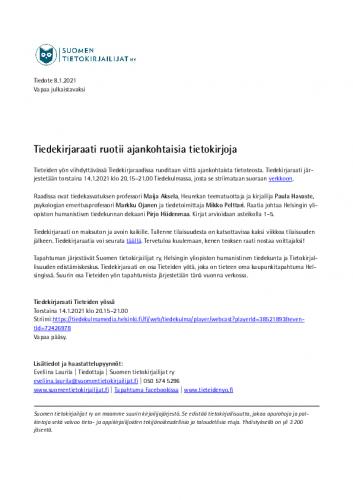 tiedote-tiedekirjaraati-ruotii-tietokirjoja-tieteiden-yossa-14.1.2021.pdf