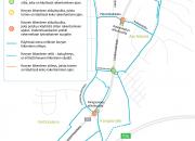 Mt 167 Lahden eteläisen sisääntulotien kevyen liikenteen järjestelyt muuttuvat