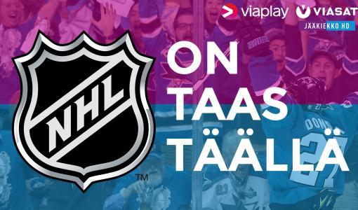 NHL on taas täällä – parhaista parhaat nähtävissä Viasatilla ja Viaplayssa!