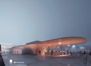 Uudelle Kauppatorille suunnitteilla aurinkolämpökeräin, paviljonkeja ja maanalaiset tukitilat