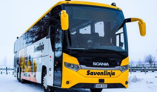 Savonlinjalle tullut 10 uutta bussia!