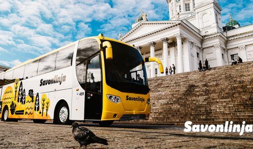 Savonlinja puolittaa hinnat Suomi 100 -hengessä