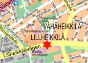 Kaapelityö Vähäheikkiläntiellä 31.7. - 4.8.2017