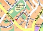 Vesijohto- ja viemärityö Valkiasvuorenkadulla 4. - 8.1.2018. Työ on valmistunut.
