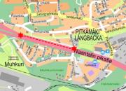 Vihertyö Naantalin pikatiellä 17. - 18.4.2018. Työ jatkuu.