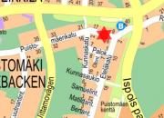Kaapelityö Puistomäenkadulla 14.11.2018