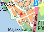 Katualueelle ulottuva rakennustyö Kokkakadulla 14.12.2018