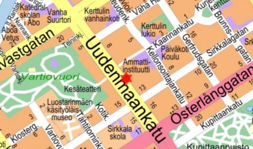 Viemäri- ja vesijohtotyö Uudenmaankadulla 25.3. - 8.4.2019