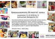 Mäntyharjun kansalaisopiston 50 -vuotisjuhlaa vietetään 13.10.2018