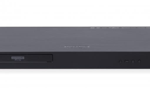 LG esittelee 4K- ja HDR-sisältöjä toistavan Blu-ray-soittimen