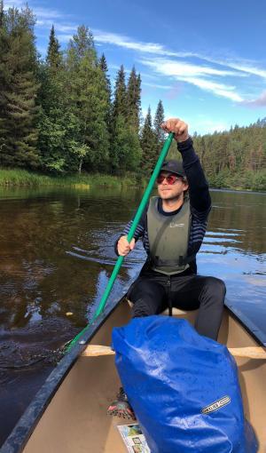 Paluumuuttaja Jussi Saarinen toteuttaa unelmiansa lapsuudenmaisemissa ja yhdistää kulttuuria ja ainutlaatuista luontoa tapahtumiksi