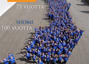 Roclalaiset iloitsevat yrityksen 75-vuotistaipaleesta Suomen juhlavuoden hengessä