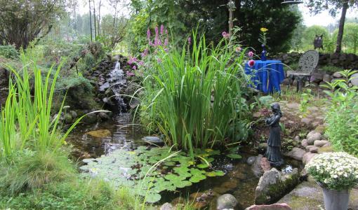 Elävöitä puutarhaa luonnon ehdoilla