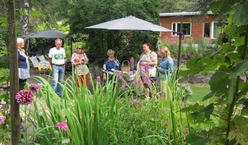 Hyvän mielen puutarhat avautuvat 2.7.2017