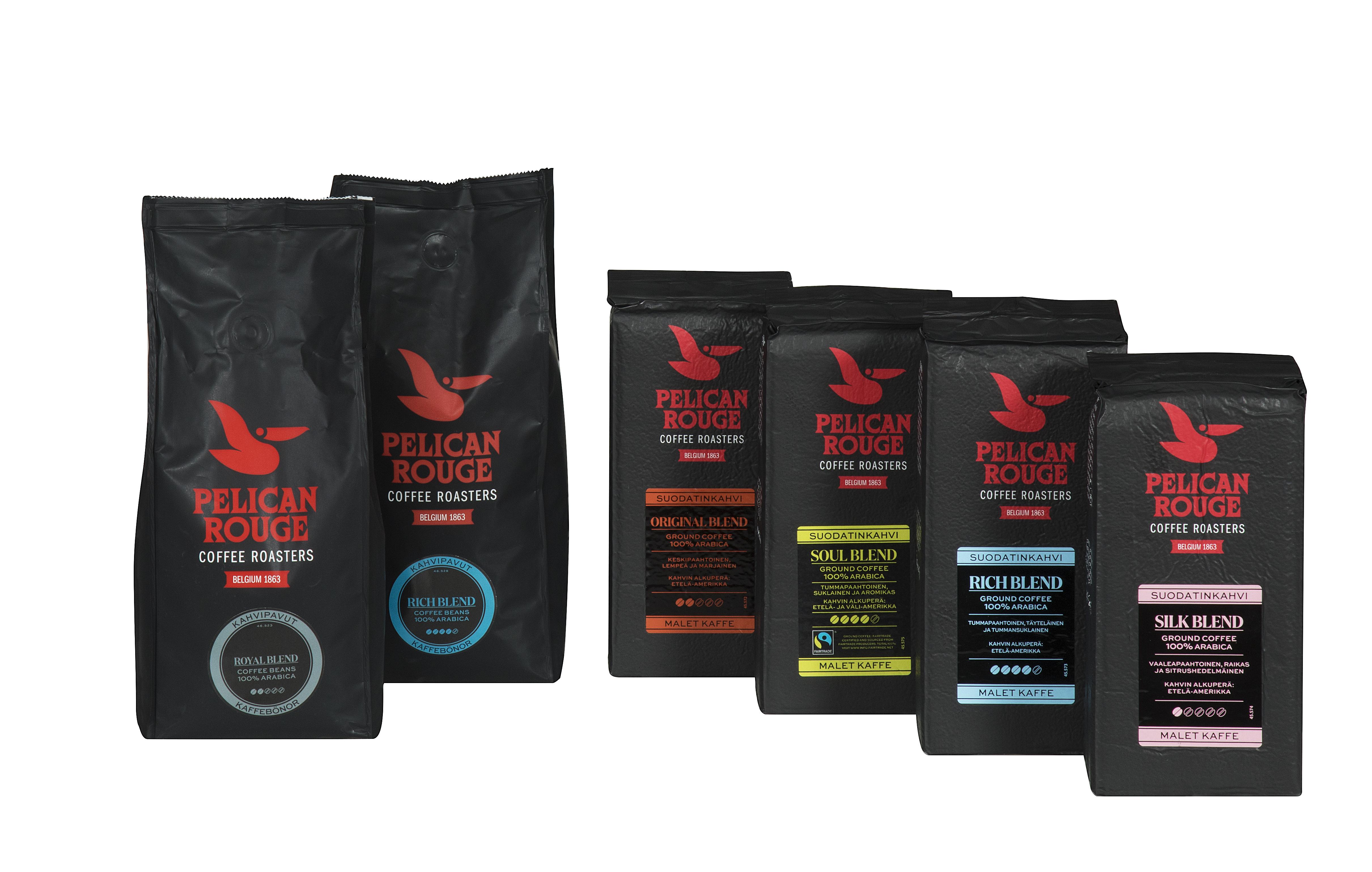 pelican rouge kahvi hinta