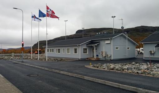 Suomen ja Norjan rajan tulliasemien uudistus alkoi Kilpisjärveltä