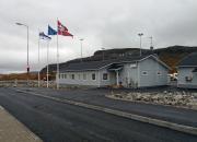 Förnyelsen av tullstationer vid gränsen mellan Finland och Norge började i Kilpisjärvi