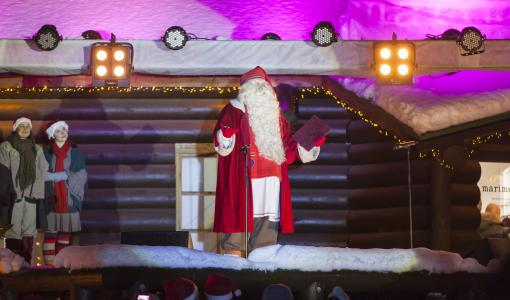 Santa Claus opens the official Christmas season – watch it live directly from Rovaniemi, Lapland