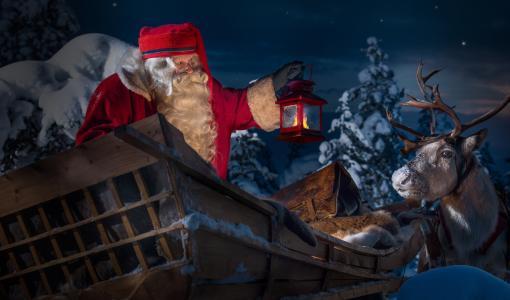 Katso suorana, kun Joulupukki lähtee matkalleen maailman ympäri