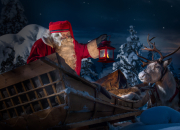 The start of Santa Claus' annual journey around the world LIVE on Facebook December 23rd