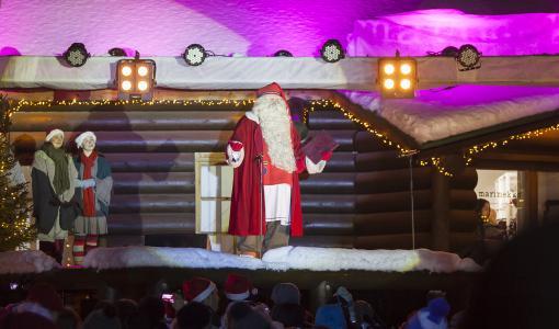 Joulupukki avaa joulun Rovaniemellä – katso suora lähetys Joulupukin Pajakylästä