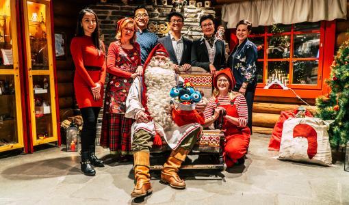 Alipayn kilpailu tuo Joulupukille Kiinasta apulaisen Rovaniemelle