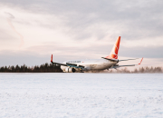Turkish Airlines opened a new direct flight to Rovaniemi, Lapland.