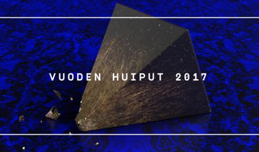 Vuoden Huiput 2017 -shortlista julki