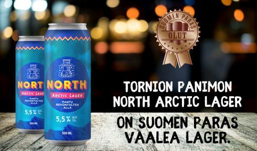 Suomen paras lager tulee Torniosta