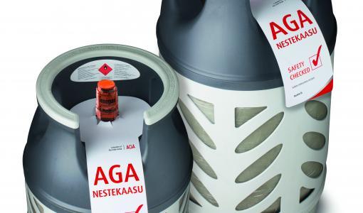 AGAn kesän nestekaasukampanja keräsi yli 10 000 euroa lasten ja nuorten hyväksi